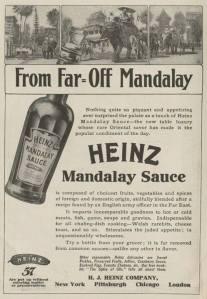 Heinz Mandalay Sauce