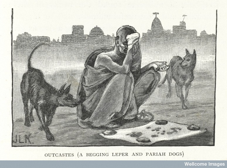 From J.L. Kipling, Beast and man in India: A popular sketch of Indian animals in their relationship with the people (1891). Credit: Wellcome Library, London.
